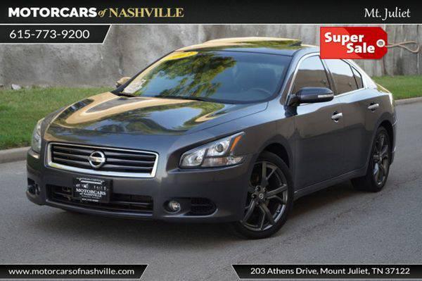 2013 *Nissan* *Maxima* 4dr Sedan 3.5 SV w/Sport Pkg Carfax Certified...