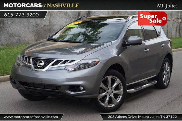 2013 *Nissan* *Murano* AWD 4dr LE Carfax Certified HUGE SALE *BEST...