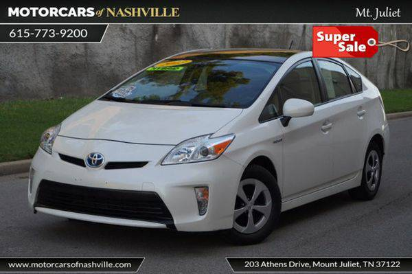 2013 *Toyota* *Prius* 5dr Hatchback Three Carfax Certified HUGE SALE...