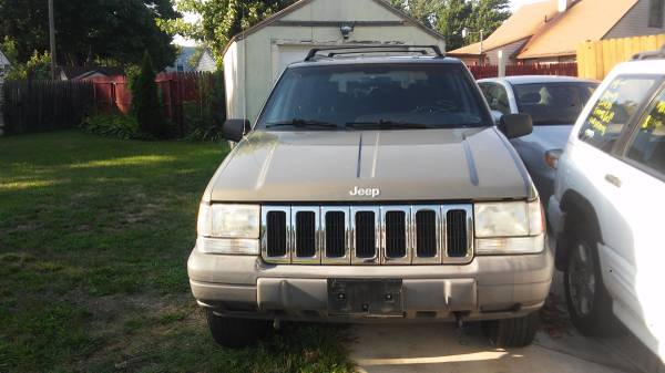 1998 jeep g rc miles 52.000