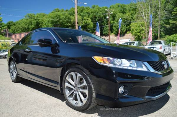 2013 Honda Accord* 1 OWNER* V6* BACK UP AND SIDEVIEW CAMERA* LEATHER