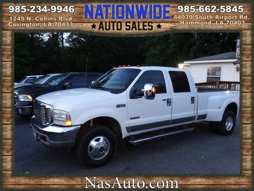 2004 FORD F350 DUALLY DIESEL LARIAT CREW CAB **GREAT SHAPE**WE FINANCE