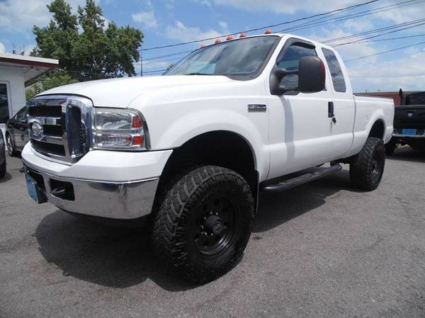 !!!LIFTED!!! 2006 FORD F-250 5.4L SUPER DUTY WITH ONLY 99K!!!!!!!!!!!!