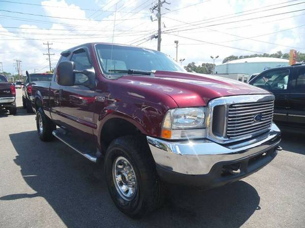 2004 FORD F250 SUPER-CAB POWERSTROKE DIESEL!! NICE TRUCK GOOD MILES!!