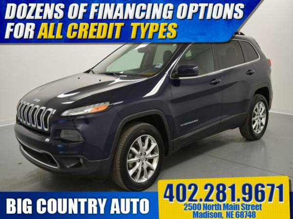 2014 Jeep Cherokee 4WD 4dr Limited Sport Utility 4WD 4dr
