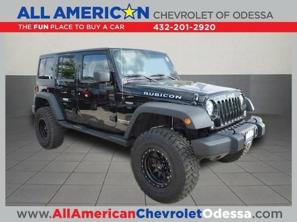 2014 Jeep Wrangler Unlimited RUBICON SUV Wrangler Unlimited Jeep