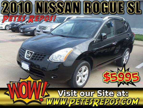 2010 Nissan Rogue SL For Sale -- Nissan