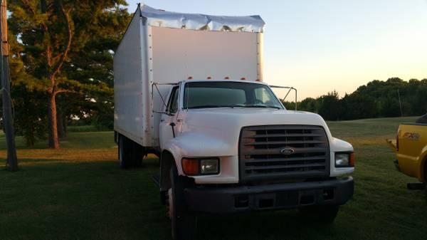 2000 f800 f 800 box truck