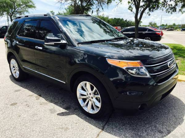 2013 *Ford* *Explorer* Limited Sport Utility 4D