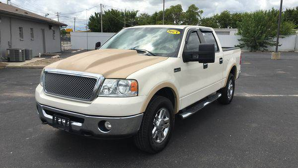 2008 *Ford* *F-150* *F 150* *F150* FX4 4dr SuperCrew 4WD Styleside...