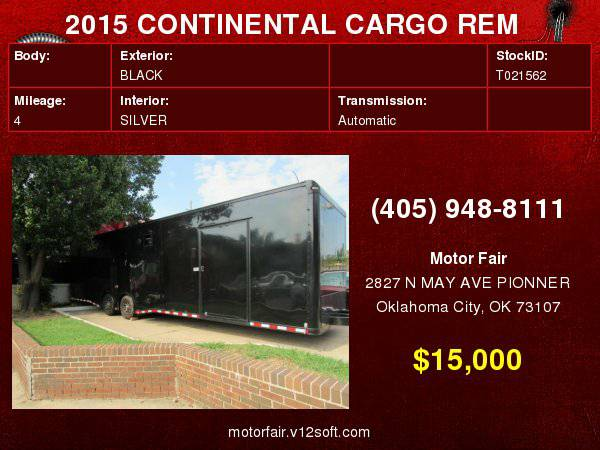 2015 TRAILER REM **You Are Approved!**