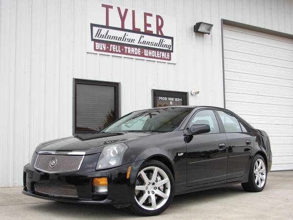 2004 Cadillac CTS-V, LS6 engine, 6-speed, 400hp