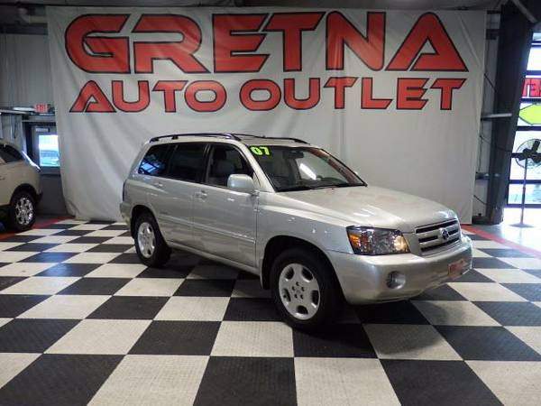 2007 Toyota Highlander Limited V6 4WD HEATED LEATHER MOONROOF ONLY 122
