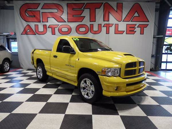 2005 Dodge Ram 1500 RUMBLE BEE PKG SLT REG CAB SHORTBOX LEATHER 78K