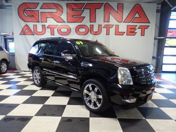2009 Cadillac Escalade AWD NAVIGATION QUADS ROOF DVD POWER ALL LOADED