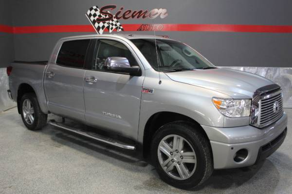 2013 Toyota Tundra Limited 5.7L FFV CrewMax 4WD - Affordable Used Cars