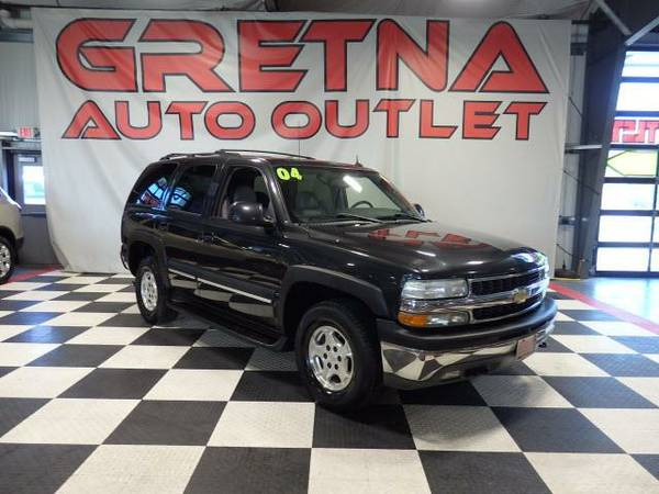2004 Chevrolet Tahoe LT AUTORIDE 4X4 HEATED LEATHER 3RD ROW ROOF