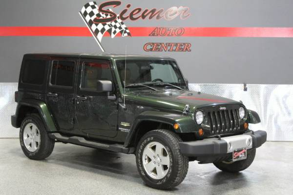 2011 Jeep Wrangler Unlimited Sahara 4WD - Great Deals On Used Cars