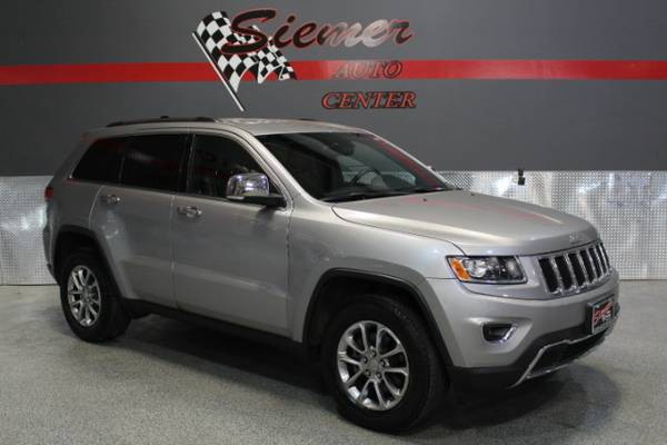 2014 Jeep Grand Cherokee Limited 4WD - Used Cars, Great Prices