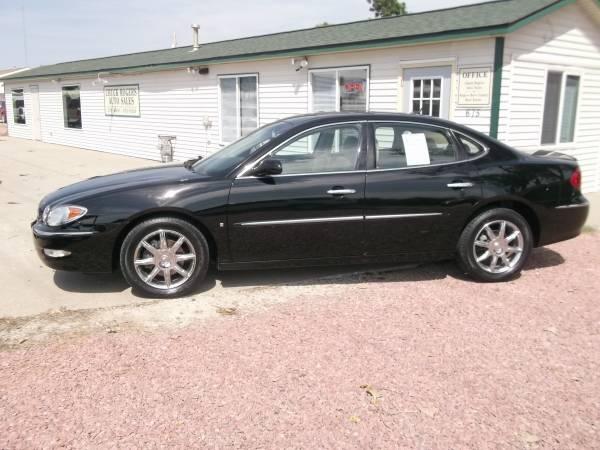 2006 Buick La Crosse CXS-Heated Leather-Sunroof-Chrome Wheels-Black