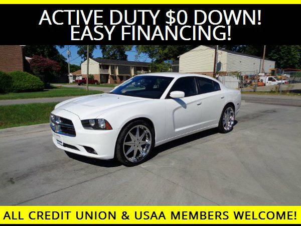 ★2013 Dodge Charger SXT w/22INCH RIMS★$0 DOWN MILITARY...