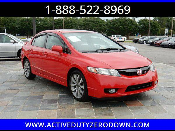 2011 HONDA CIVIC SI- USMC ZERO DOWN FINANCING @