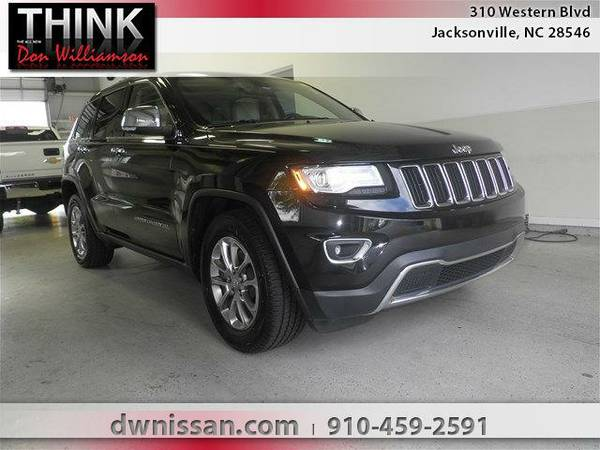 2014 *Jeep Grand Cherokee* Limited - Good Credit or Bad Credit!