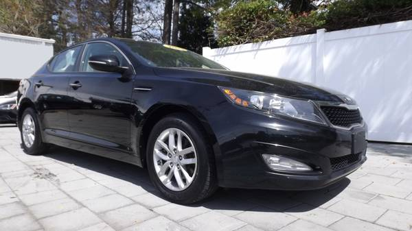 2013 KIA OPTIMA LX BLACK