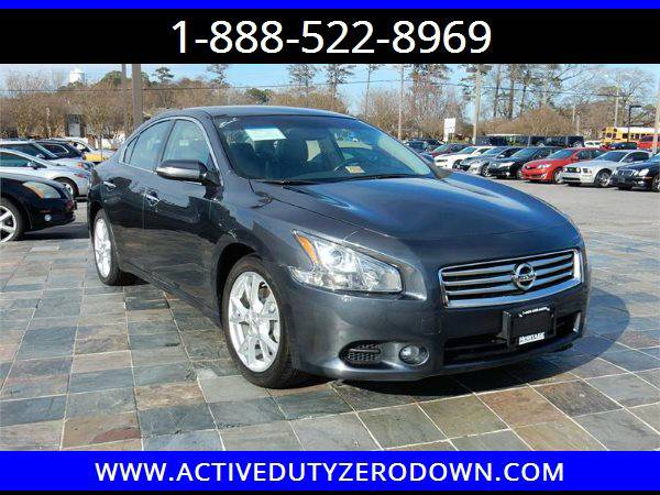 2012 NISSAN MAXIMA SV= Military Financing= ====