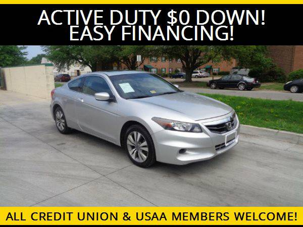 ★2012 Honda Accord EX coupe★$0 DOWN MILITARY FINANCING...