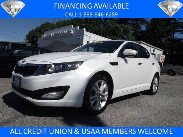 2011 KIA OPTIMA EX WHITE