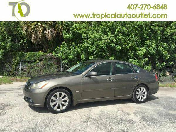 2006 *Infiniti* *M* 35 Luxury -$1500 to $2500 DOWN AND DRIVE IT AWAY!