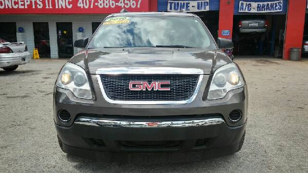 2010 GMC Acadia AWD SL 4dr SUV clean title like new