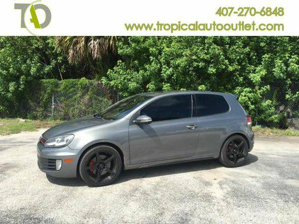 2010 *Volkswagen* *GTI* 2.0T Coupe -$1500 to $2500 DOWN AND DRIVE IT...