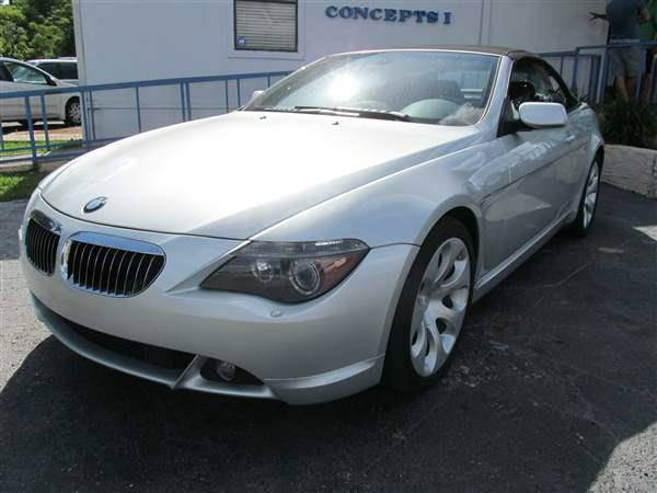 2004 BMW 6 Series 645Ci 2dr Convertible clean title