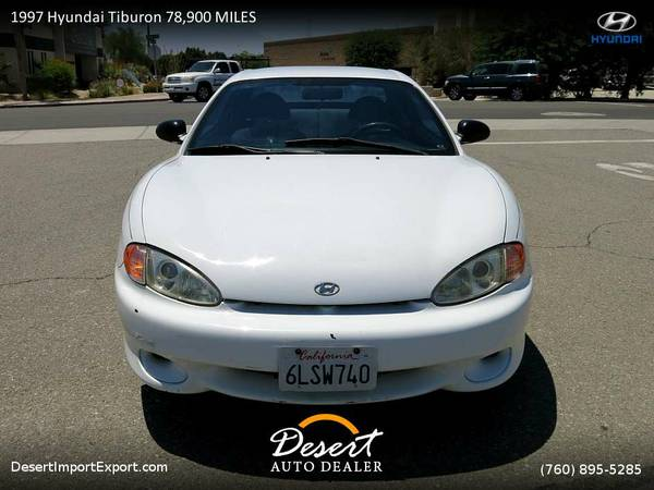 1997 Hyundai Tiburon 78,900 MILES Coupe which runs PERFECT