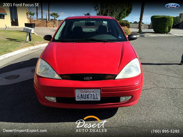 2001 Ford Focus SE Sedan without the headache new tires