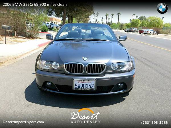 Drive this 2006 BMW 325Ci 69,900 miles clean title Convertible home...
