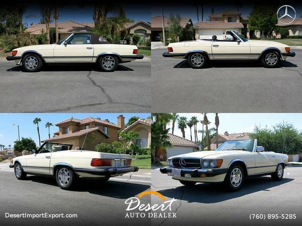 1982 Mercedes-Benz 380 Series 380SL 77,900 miles Convertible at a...