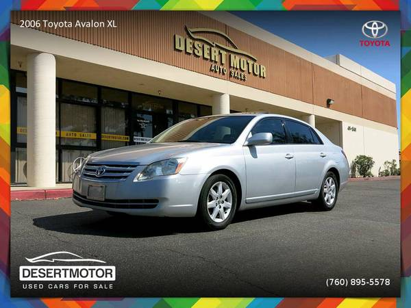 2006 Toyota Avalon XL Luxury 2 Owners All Service Records