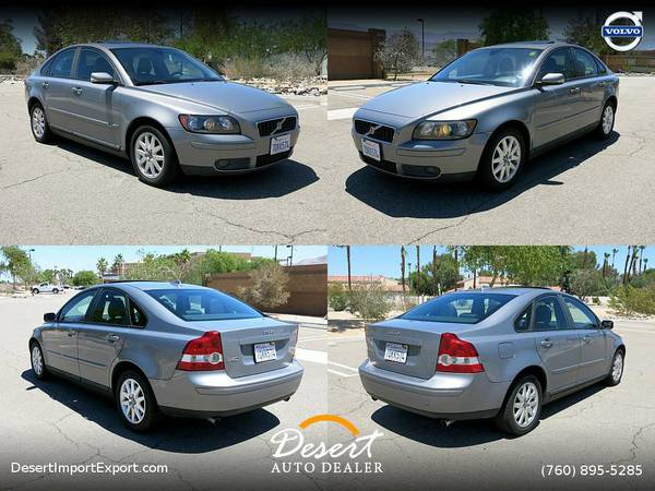 2006 Volvo S40 2.5L Turbo T5 86,000 MILES CLEAN TITLE Sedan LOADED W/