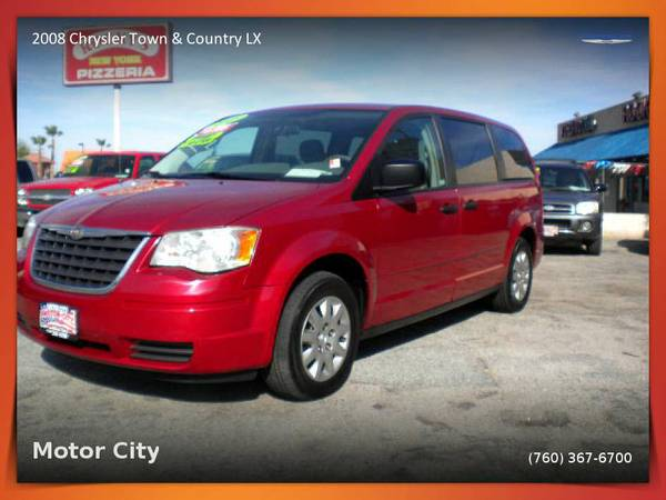 2008 Chrysler Town & Country LX Van/Minivan in GREAT CONDITION!