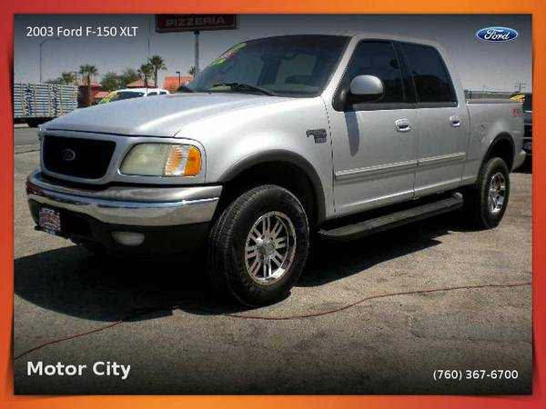 2003 Ford F-150 XLT 4x4 super crew Pickup available for a test drive