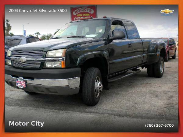 2004 Chevrolet Silverado 3500 8.1L ex cab dually Pickup w/low miles
