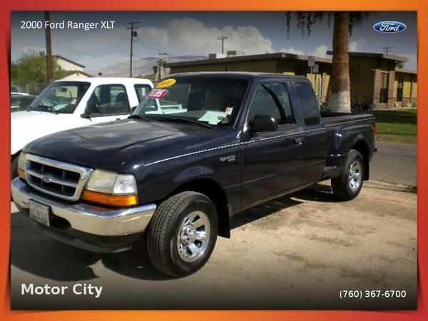 2000 Ford Ranger XLT 4 dr stepside Pickup