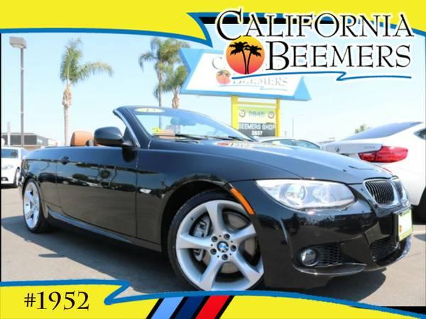2013 BMW 335i Convertible M Sport Black Sapphire Metalic