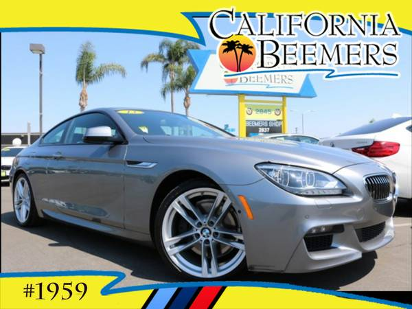 2013 BMW 640i Coupe M Sport Space Gray Metalic