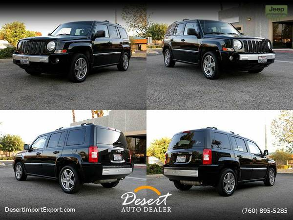 This 2007 Jeep Patriot Limited 63,000 MILES CLEAN CARFAX SUV is still