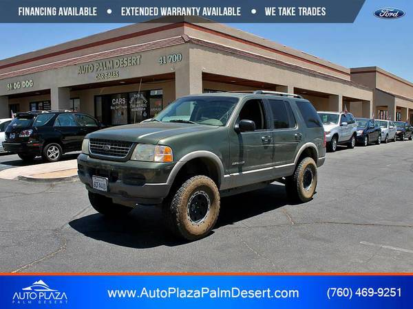 *2002* *Ford* *Explorer XLT* OFF-ROAD LIFTED