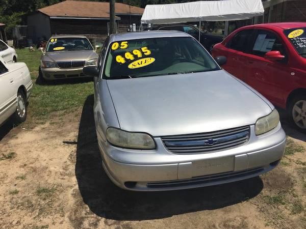 05 Chevy Malibu Classic, 4 cyl, auto 118K miles.